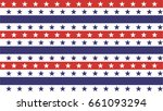 4th of july stars and stripes... | Shutterstock .eps vector #661093294