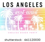 vintage tropical graphic.... | Shutterstock .eps vector #661120030