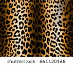 leopard pattern  fashion fabric ... | Shutterstock . vector #661120168
