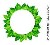 vector white circle background... | Shutterstock .eps vector #661136434