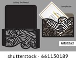 vector laser cutting. | Shutterstock .eps vector #661150189