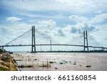 can tho bridge  can tho city ... | Shutterstock . vector #661160854