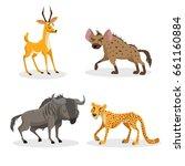 cartoon trendy style african... | Shutterstock .eps vector #661160884