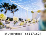 dinner set up   Shutterstock . vector #661171624