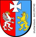 coat of arms of podkarpackie... | Shutterstock .eps vector #661190740