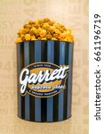 Small photo of KUALA LUMPUR, MALAYSIA - JUNE 4, 2017: Garrett Popcorn Shops. Their first shop opened up in 1949 by the Garrett's family in Chicago