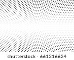 abstract halftone dotted... | Shutterstock .eps vector #661216624