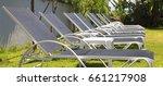 beach lounger  sun lounger | Shutterstock . vector #661217908