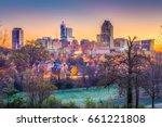 raleigh  north carolina  usa... | Shutterstock . vector #661221808