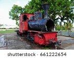 Old Train At The Sugar King...
