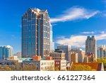 raleigh  north carolina  usa... | Shutterstock . vector #661227364