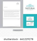 flower diadem identity design... | Shutterstock .eps vector #661229278