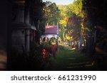beautiful scenery  vienna... | Shutterstock . vector #661231990