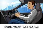 vector illustration  a car... | Shutterstock .eps vector #661266763