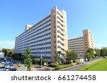 public housing in tokyo | Shutterstock . vector #661274458