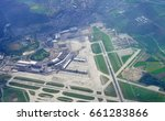 aerial view of the zurich... | Shutterstock . vector #661283866