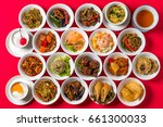 delicious chinese food group... | Shutterstock . vector #661300033