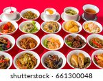 delicious chinese food group... | Shutterstock . vector #661300048