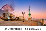 the port of kobe is the second...   Shutterstock . vector #661301233