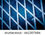 detail shot of modern... | Shutterstock . vector #661307686