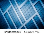detail shot of modern... | Shutterstock . vector #661307743