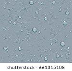 dew drops of water seamless... | Shutterstock .eps vector #661315108