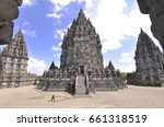 prambanan temple | Shutterstock . vector #661318519