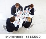 image of several employees... | Shutterstock . vector #66132010