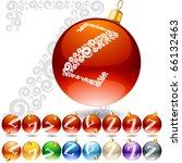 versatile set of alphabet... | Shutterstock .eps vector #66132463