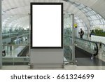 blank mock up of vertical... | Shutterstock . vector #661324699