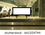 blank mock up of horizontal... | Shutterstock . vector #661324744