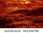 sunset on the sea | Shutterstock . vector #661346788