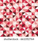 abstract retro pattern of... | Shutterstock .eps vector #661352764