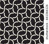 seamless black and white cross...   Shutterstock .eps vector #661366126
