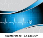 vector illustration of abstract ... | Shutterstock .eps vector #66138709