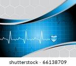 vector illustration of abstract ... | Shutterstock .eps vector #66138709
