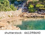 landscape photo of rocky... | Shutterstock . vector #661398640