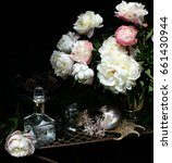 Still Life With Peonies ...