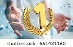 businessman on blurred...   Shutterstock . vector #661431160