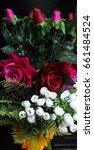 the flowers in vase | Shutterstock . vector #661484524