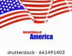 vector image of united states... | Shutterstock .eps vector #661491403