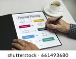 investment professional service ... | Shutterstock . vector #661493680