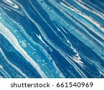blue and white marble stone... | Shutterstock . vector #661540969