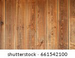 wooden background. brown boards ... | Shutterstock . vector #661542100
