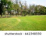 parks   garden | Shutterstock . vector #661548550