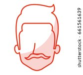 young man head avatar character | Shutterstock .eps vector #661561639
