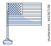 united states of asmerica flag | Shutterstock .eps vector #661567138