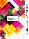 corporate vector business... | Shutterstock .eps vector #661600870