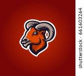 bighorn ram mascot head