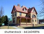 mansfield house  university of... | Shutterstock . vector #661604896